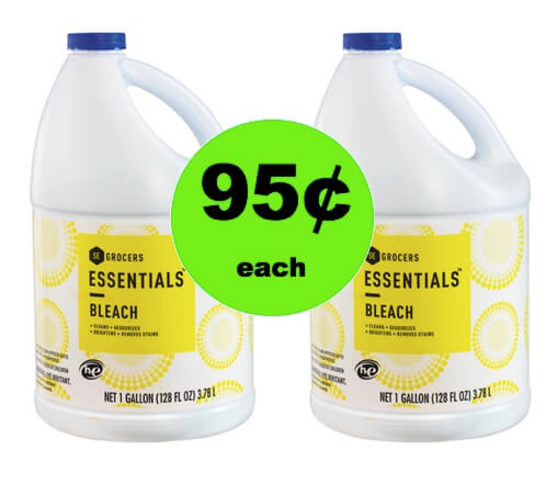 Pick Up Essentials Bleach Only 95¢ Each at Winn Dixie! (Ends 2/20)