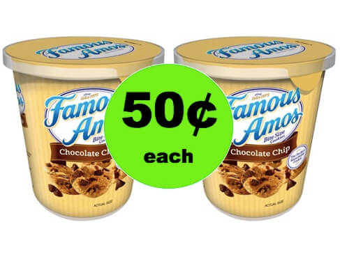 Satisfy Your Sweet Tooth with 50¢ Famous Amos Cookies Cups Target! (Ends 2/28)