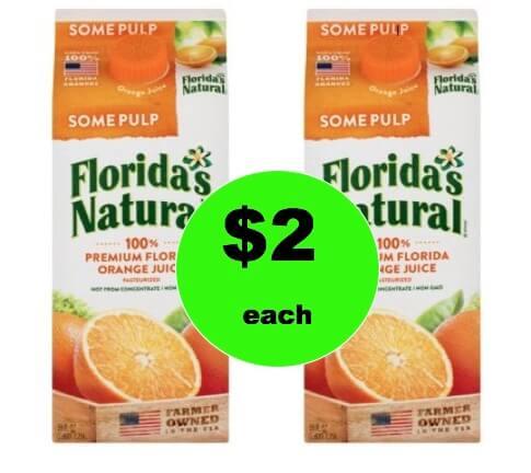 Pick Up Florida's Natural Orange Juice Only $2 at Winn Dixie! (Ends 2/6)