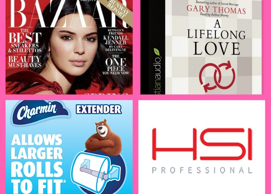 Did You Get These FOUR (4!) FREEbies: Annual Subscription to Bazaar Magazine, Christian Audiobook, Charmin Toll Extender and Aragon Hair Oil!