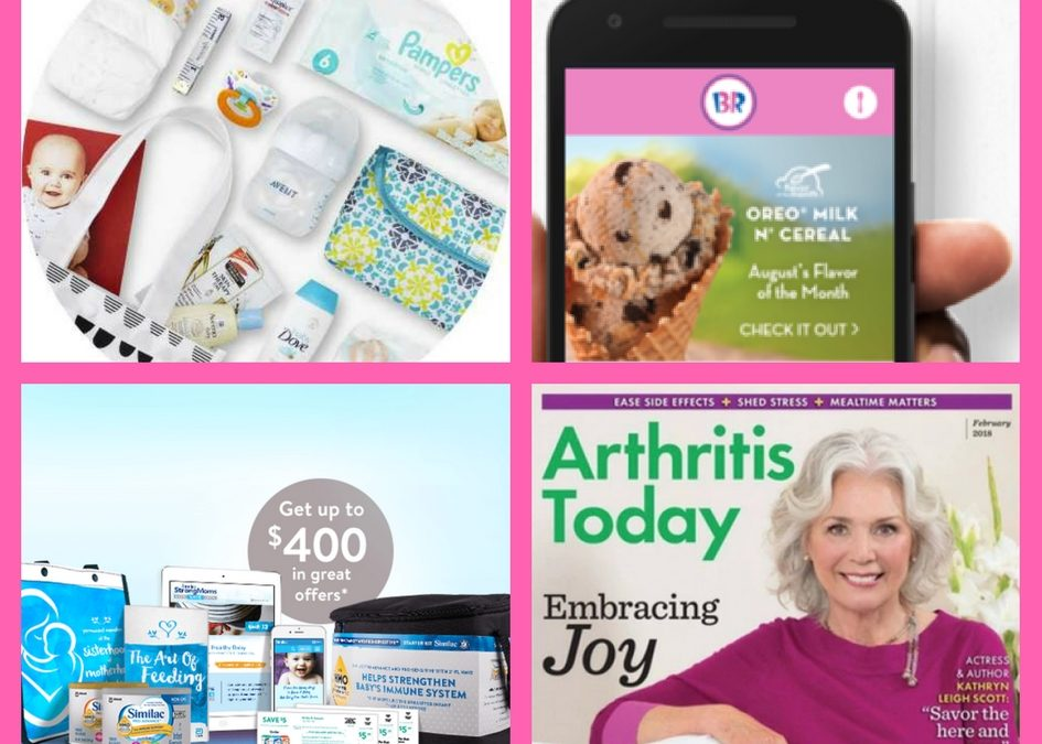 Grab These FOUR (4!) FREEbies: Target Baby Box, Baskin Robbins Ice Cream Scoop, Similac Baby Registry and Annual Subscription Arthritis Today!
