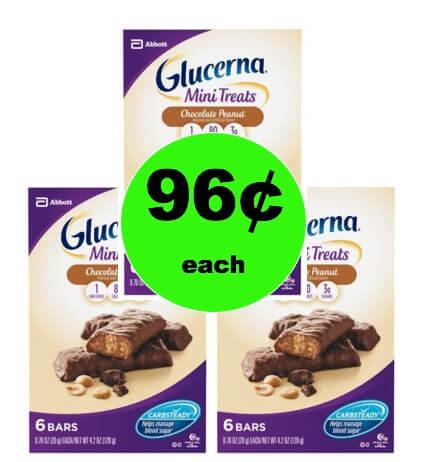 Snag 96¢ Glucerna Mini Snack Nutrition Bars at Target! (Ends 2/17)