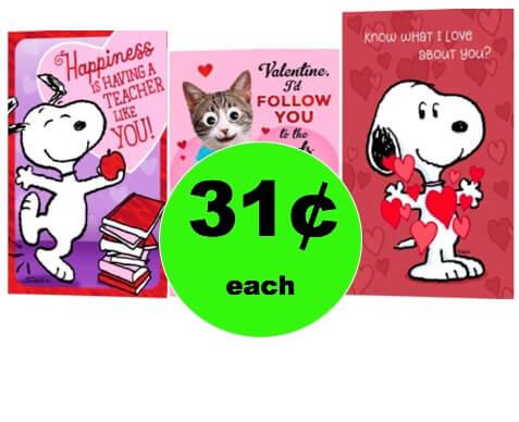 Send a Valentine Wish with 31¢ Hallmark Cards at Walgreens! (2/4 – 2/10)