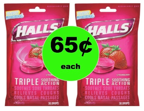 Cut the Cough with 65¢ Halls Cough Drops at Winn Dixie! (2/7-2/9)