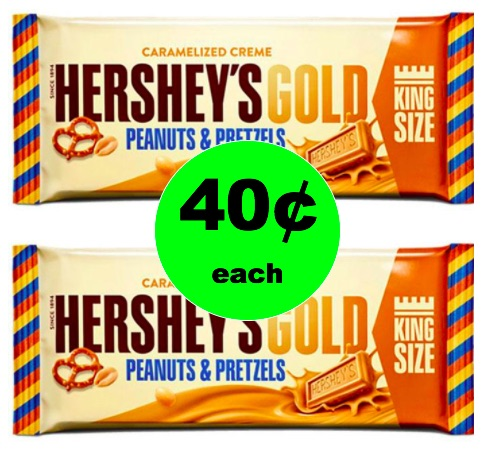 CHEAP CANDY ALERT! Get Hershey's Gold King Size Bar Only 40¢ Each at Winn Dixie! (2/21/-2/27)