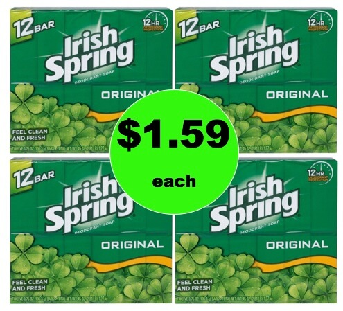 Feel Fresh for Less with Irish Spring Bar Soap Only 33¢ Per Bar at Target! (Ends 2/3)