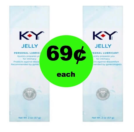 Get K-Y Personal Lubricant Only 69¢ at Target (at Walmart too)! (Ends 2/17)
