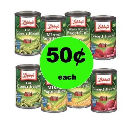 Stock Up on Your Veggies with Libby's Canned Vegetables Only 50¢ at Winn Dixie! (2/7-2/13)