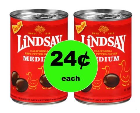 Pick Up Lindsay Olives Only 24¢ Each at Walgreens! (Ends 2/10)
