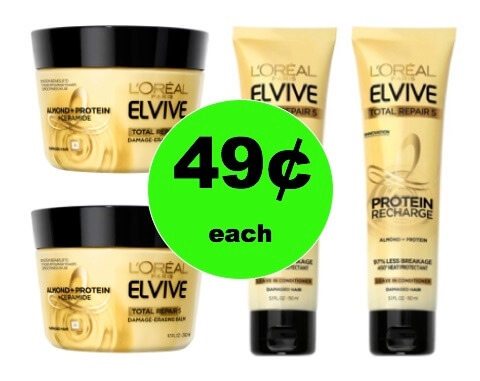 Your Hair Will Love 49¢ L'Oreal Elvive Hair Treatments at Target (at Other Stores too)! (Ends 2/24)