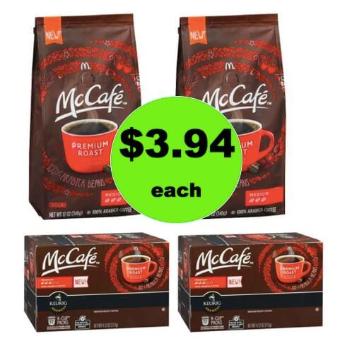 Grab Your Coffee Deal with $3.94 McCafe Coffee Bags or K-Cups at Walgreens! (Ends 3/3)