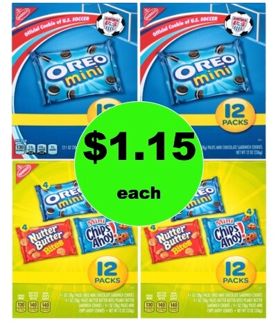 It's a Snack Stock Up with $1.15 Nabisco Multi-pack Pouch or Tray Pack at Target! (Ends 2/14)