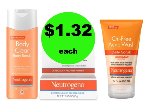 Say So Long to Acne with $1.32 Neutrogena Acne Products at Target! (Ends 2/17)