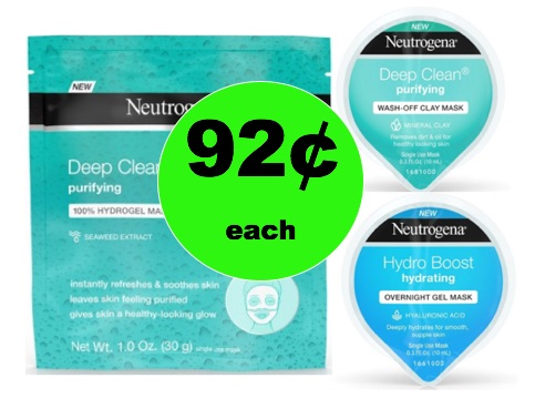 Feel Refreshed with 92¢ Neutrogena Masks at Target (No Coupons Needed)! (Ends 2/17)