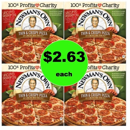 Stock Up for Pizza Night with $2.63 Newman's Own Pizza at Target (Reg. $5.79)! (Ends 3/10)