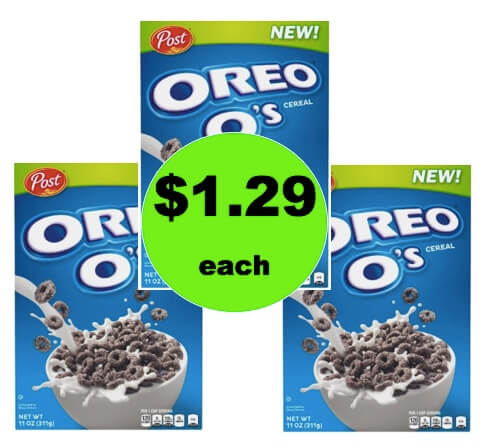 Have Cookies for Breakfast with $1.29 Oreo O's Breakfast Cereal at Target! (Ends 2/24)