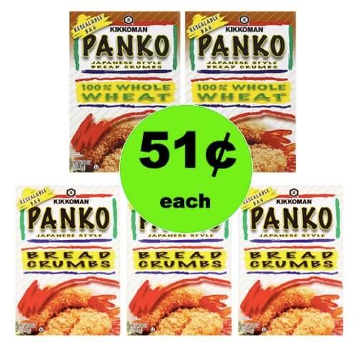 Pick Up 51¢ Kikkoman Panko Bread Crumbs at Walmart! (Ends 3/31)