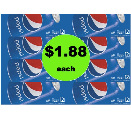 PRINT NOW for $1.88 Pepsi 12 Packs at Target! (Ends 3/3)