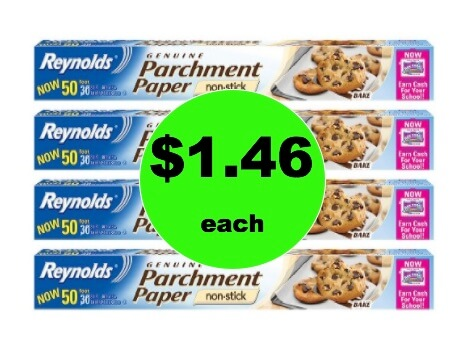 Pick Up $1.46 Reynold's Parchment Paper at Target! (Ends 2/17)