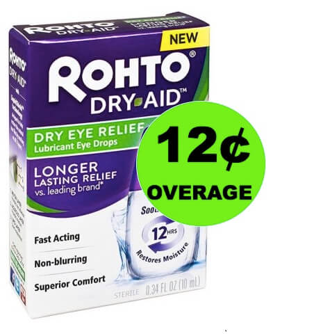 FREE + 12¢ OVERAGE on Rohto Dry Eye Relief at Walmart! (Ends 3/18)