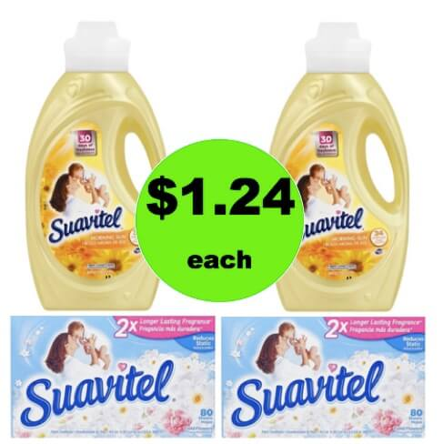 Give Your Laundry the Ahhhh Factor with $1.24 Suavitel Liquid Softener & Dryer Sheets at Target! (Ends 2/24)