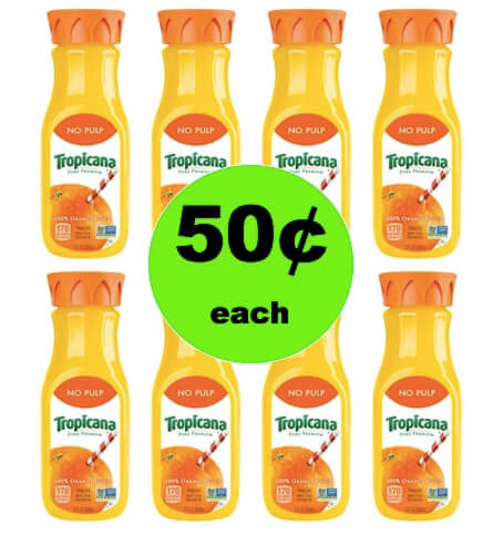 Boost Your Immune System with 50¢ Tropicana OJ Singles at Winn Dixie! (Ends 4/17)