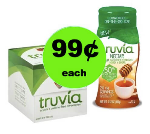 It's a Sweet Deal! Get 99¢ Truvia Nectar or Packets at Target! (Ends 3/3)