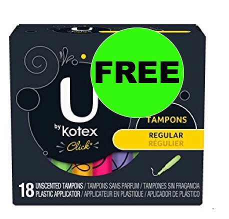FREE U by Kotex Tampons at Winn Dixie! (Ends 2/20)
