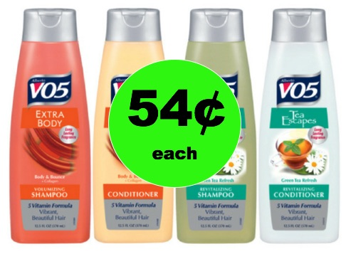 Get VO5 Shampoo and Conditioner Only 54¢ Each at Winn Dixie! (Ends 2/13)