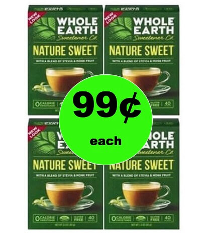 Like It Naturally Sweet? Pick Up 99¢ Whole Earth Sweetener at Target! (Ends 2/17)