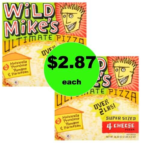 Print NOW for $2.87 Wild Mike's Ultimate Pizzas at Walmart!