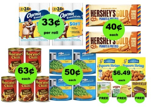 FOUR (4!) Deals 63¢ Each or Less (Some as low as 33¢!) at Winn Dixie Ad Starts 2/21/18!