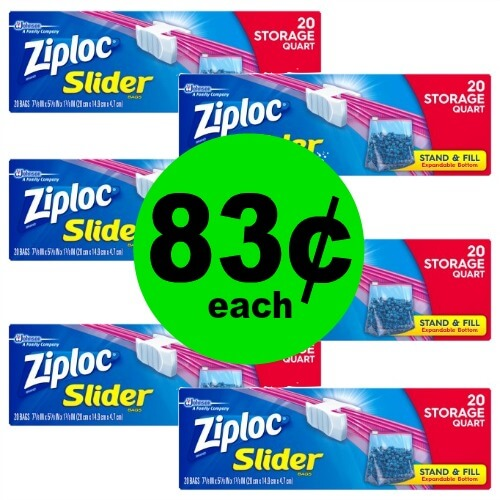 Save Money on Food and Baggies with 83¢ Ziploc Storage Bags at CVS! (2/25 – 3/3)