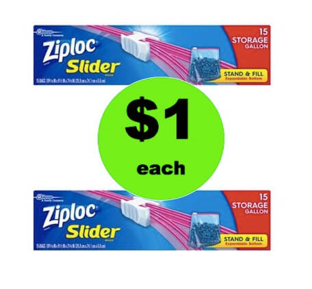 CHEAP STORAGE with $1 Ziploc Bags at Walgreens! (Ends 3/3)