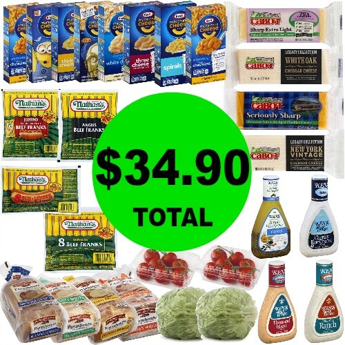 Salad, Mac & Cheese & Hot Dogs ONLY $34.90 for (28) Dinner Items at Publix! (Ends 3/31)