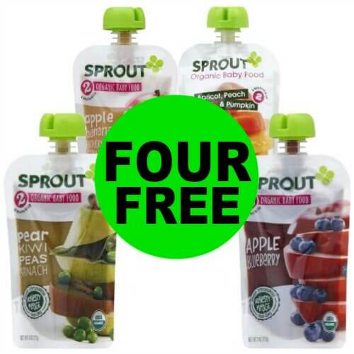 Print NOW for FREE-FREE Sprout Baby Food at Publix! (Ends 4/3 or 4/4)