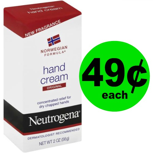 Hydrate Your Hands with 49¢ Neutrogena Hand Cream at Publix! (Ends 3/31)