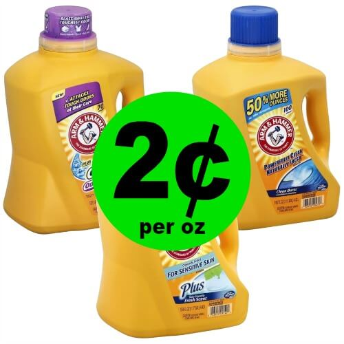 SUPER Stock Up Deal! Arm & Hammer Detergent 150 Oz Jugs for $4.33 Each at Publix! (Ends 3/6 or 3/7)