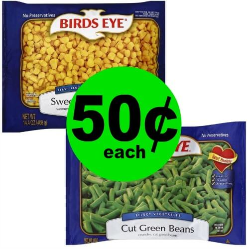 Stock Up the Freezer with 50¢ Birds Eye Corn or Green Beans at Publix! (Ends 3/31)