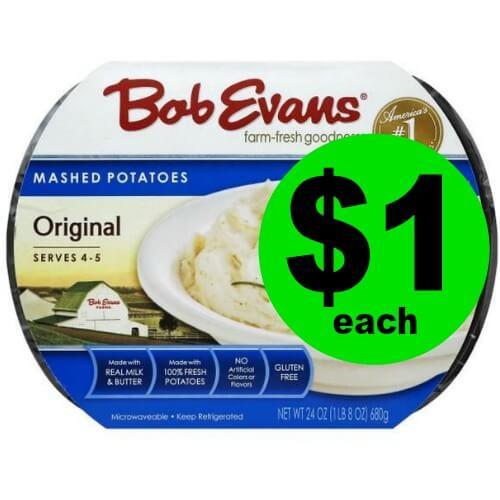 Bob Evans Side Dishes, $1 at Publix! (4/11-4/17 or 4/12-4/18)