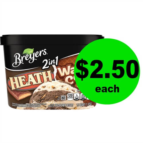 I Scream, You Scream! We all Scream for ICE CREAM! Breyers Ice Cream is JUST $2.50 at Publix! (Ends 3/13 or 3/14)