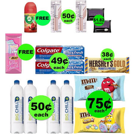 Don't Miss FOUR (4!) FREEbies & FIVE (5!) Deals Just $0.74 Each or Less at CVS! (Ends 3/17)