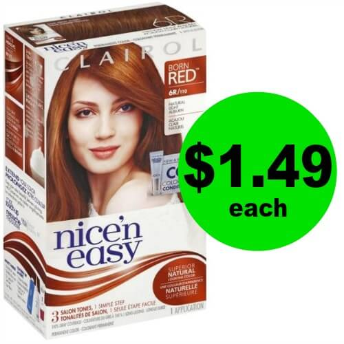 Say Good Bye to Grays! Pick Up $1.49 Clairol Hair Color at Publix!