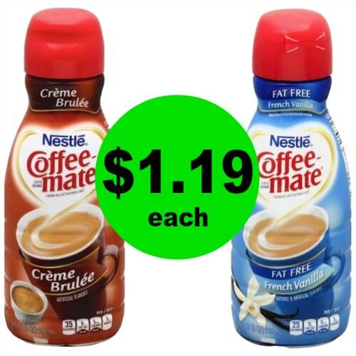 Fill Your Coffee with $1.19 Coffee-Mate Creamer at Publix! 3/22 – 3/31 (or 3/21 – 3/31)