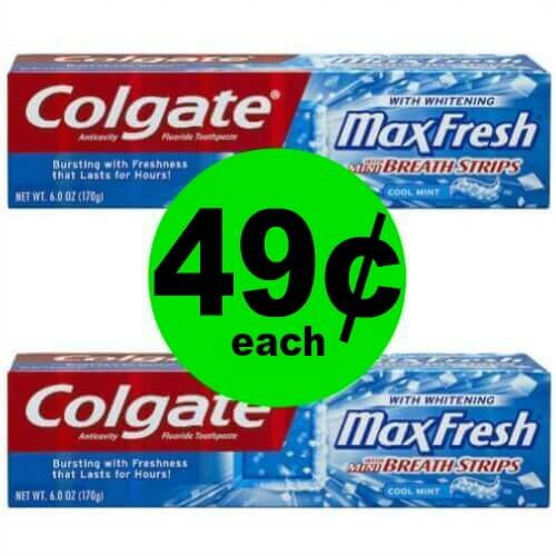 Stock Up on 49¢ Colgate Toothpastes at CVS! (Ends 3/17)