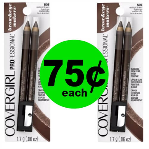 PRINT Now for 75¢ CoverGirl Brow & Eyemakers Eyeliners at CVS! (Ends 3/24)