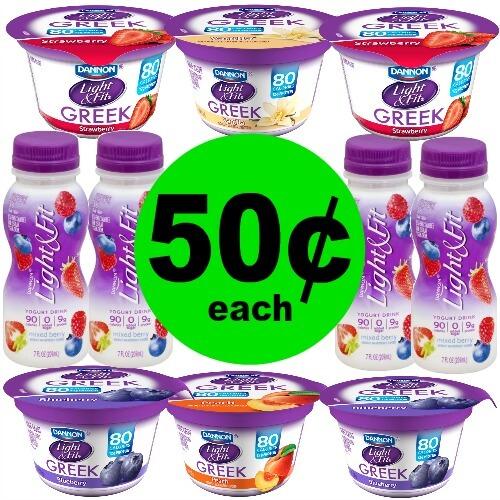 50¢ Dannon Greek Yogurt at Publix! (3/7-3/13 or 3/8-3/14)