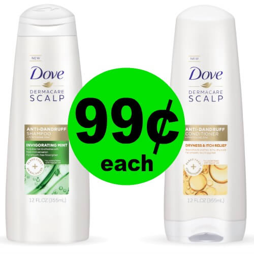 Satisfy Your Hair with Dove Dermacare Hair Care for 99¢ Each (Reg. $5) at Publix! (Ends 3/9)