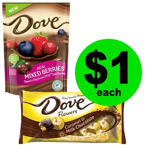 Easter Candy Alert! Grab $1 Dove Bunnies and Chicks Candy Bags at CVS! (Ends 3/17)