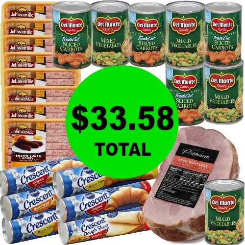 Just $33.58 for (23!) Easter Meal & Breakfast Items at Publix! (3/25-3/31)